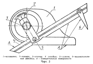 Угломер с нониусом тип3 ГОСТ 5378-88