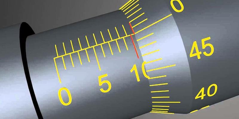 Как считывать показания микрометра